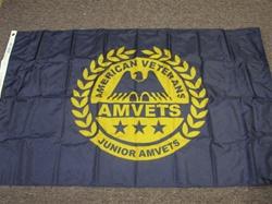 3 X 5 Junior Amvets Flag