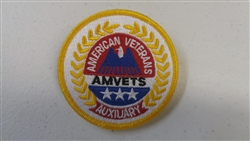 Auxiliary Embroirdered Patch With Safety Pin